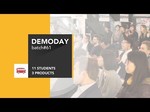 Le Wagon DemoDay - Batch #61 - Shanghai