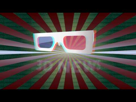 High Quality 3D Video - 3D Glasses Red Cyan Needed