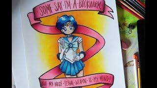Speed Drawing: Sailor Mercury