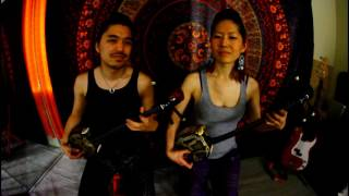 ヒヤミカチ - Hiyamkatchi (Yuna & Tida) Okinawa Sanshin