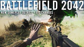 Battlefield 2042 NEW Gamęplay details + BIG Changes!