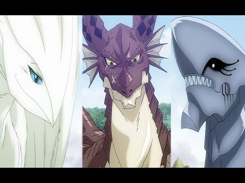 Fairy Tail - All Dragons - YouTube
