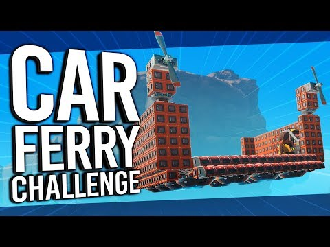Car Ferry Build Challenge! | Trailmakers (Part 1)