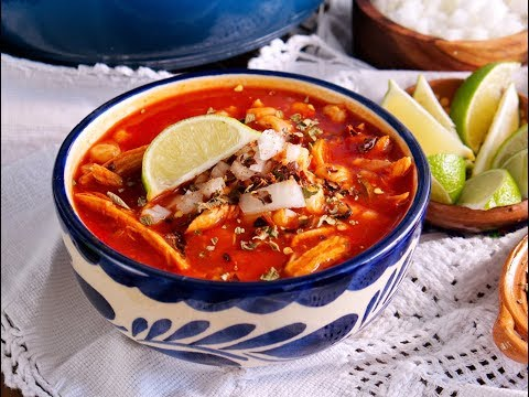 Pozole Rojo (Red Pork and Hominy Stew) | Muy Bueno