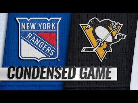 Обзор матча «Питтсбург Пингвинз» — «Нью-Йорк Рейнджерс»