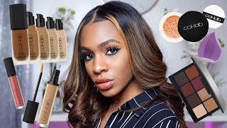 Full Face Using Sally Beauty COL-LAB Makeup! ▸ VICKYLOGAN