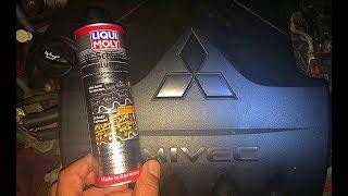 Долговременная промывка двигателя Liqui Moly - Oil Schlamm Spulung.Проводим тест