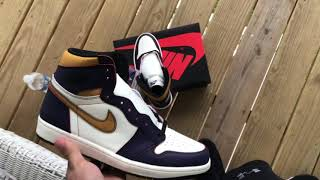 First look at the laker to Chicago sb1s / review