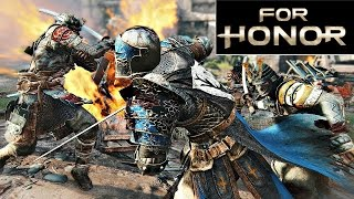 Lets Play For Honor Multiplayer Part 1 - A Lannister Knight! (Ps4 Gameplay HD)