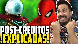 ¡ÉPICOS SPOILERS! Explicación escenas post-créditos SPIDER-MAN: Far From Home