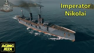 Imperator Nikolai Preview & Giveaway - World of Warships