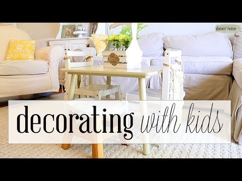 10 KID-FRIENDLY DECORATING TIPS