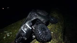 Night Crawl Challenge - Traxxas TRX-4 Defender - Netcruzer RC