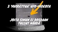 3 'vuodettua' UFO-videota, joita sinun ei koskaan tullut nähdä