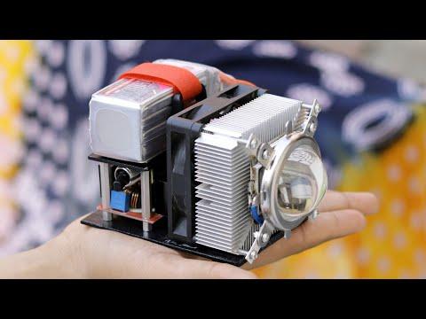 Amazing DIY Ultra Bright 100w LED Light