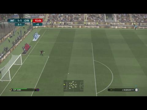 Master liga no ps4 com Inter de Milão