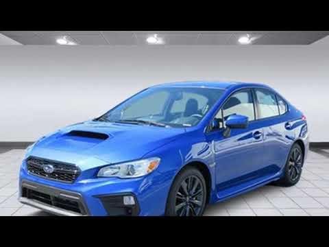 New 2019 Subaru Wrx Van Nuys Los Angeles Ca Sb190134