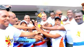 Videoclip Antorcha Juegos Nacionales 2018 Recorrido Pedro Bran,  Los Alcarrizos, Santo Domingo Norte