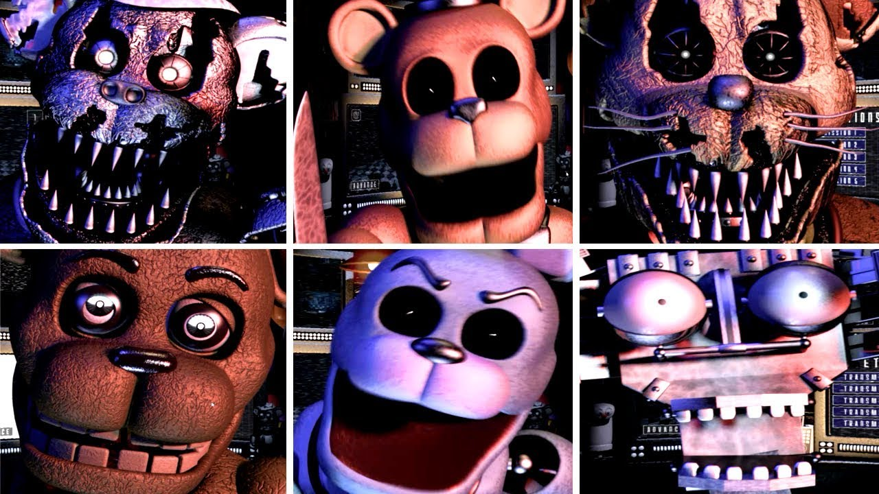 Ultimate Custom Night - FredBear and Friends: Left to Rot (All Jumpscares)
