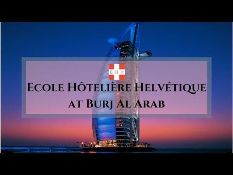 Ecole Hôtelière Helvétique at Burj Al Arab
