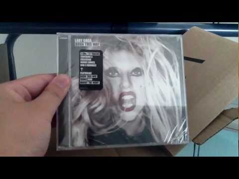 Lady Gaga - Born This Way Album Special Edition Unboxing