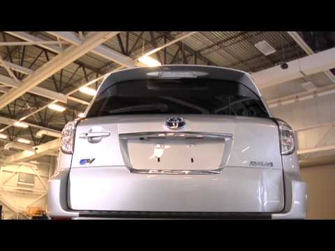 2012 Toyota RAV4 EV - Reducing The Coefficient Of Drag