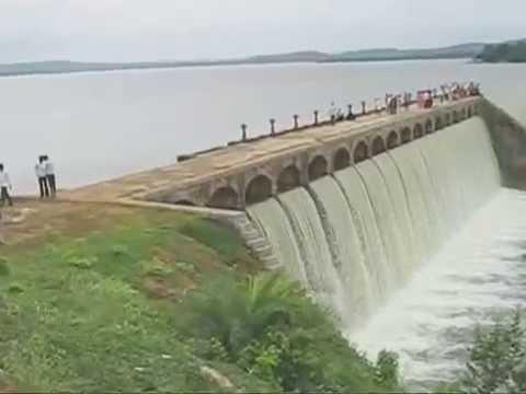Pocharam Dam at Medak dist. border.