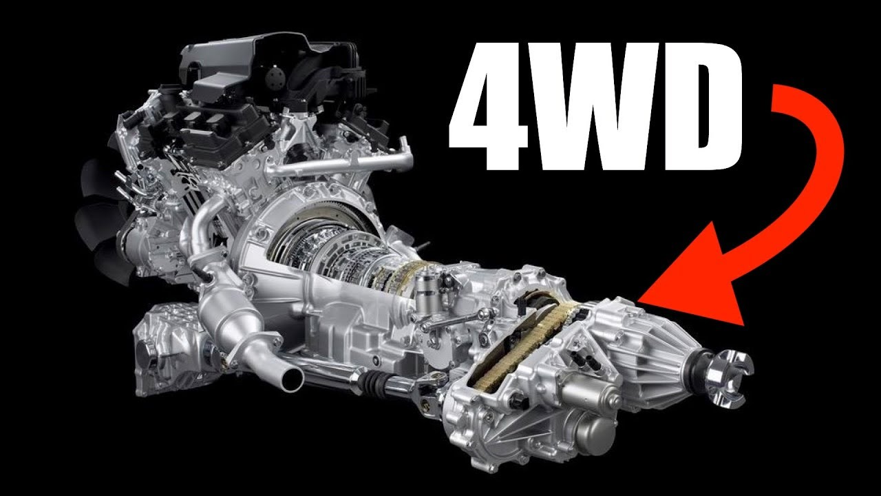 How 4WD Works  Four Wheel Drive  YouTube