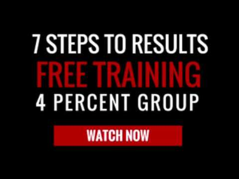 4 Percent Group Free Training Membership  -  Vick Strizheus  -  7 Steps To Results  -  YouTube