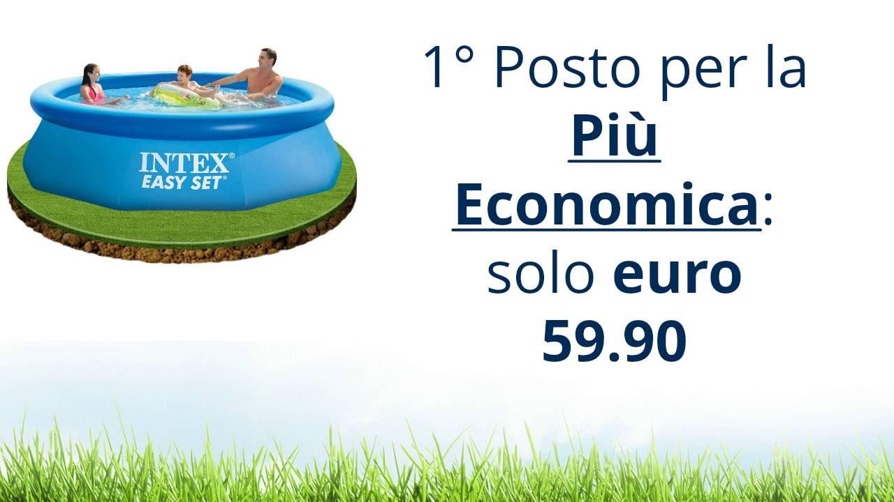piscine fuori terra intex prezzi delle migliori 3 youtube