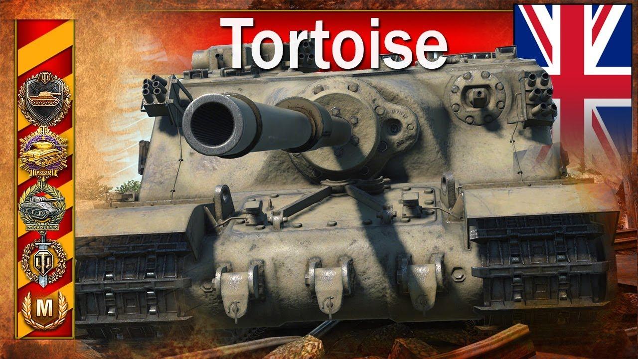 Tortoise – ostatnie bitwy przed buffem – World of Tanks