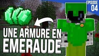 UNE ARMURE EN EMERAUDE ?! | Minecraft Moddé S4 | Episode 4