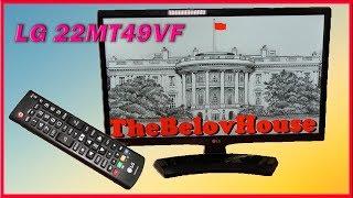 """FullHD IPS телевизор-монитор со встроенными играми """"LG 22MT49VF-PZ"""""""