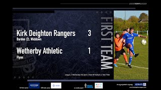 Wetherby Athletic Match Highlights