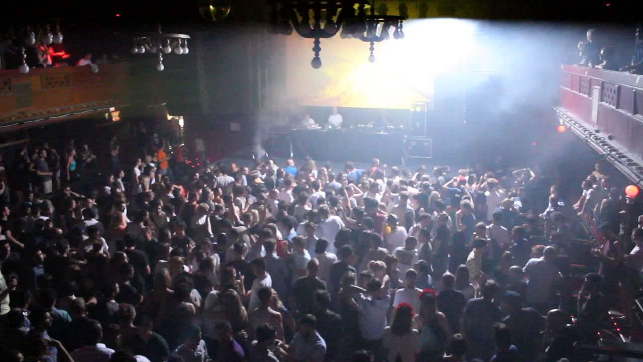 The orb live at kompakt night nitsa club barcelona for Night club barcelona