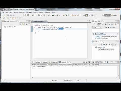 Java Programming - 28 - Escape Sequences