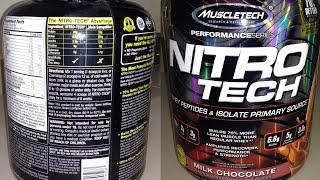 MuscleTech - NitroTech Performance Series
