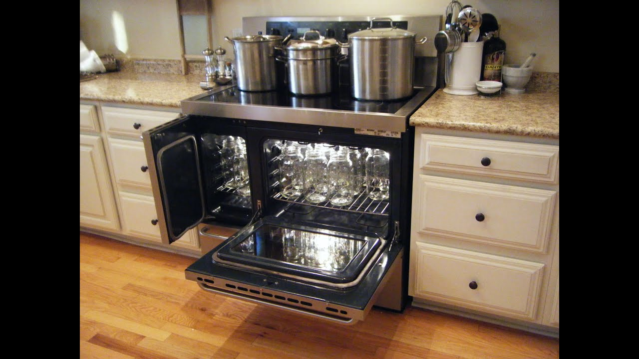 How to sterilize jars for oven canning dry goods vacuum for How long to sterilize canning jars