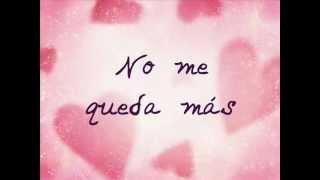 Selena- No me queda mas (Letra)