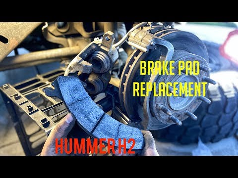How to Change Brake Pads on a Hummer H2