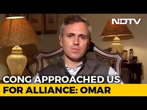 On Alliance With Congress, Omar Abdullah Draws Line At Kashmir Valley Mp3