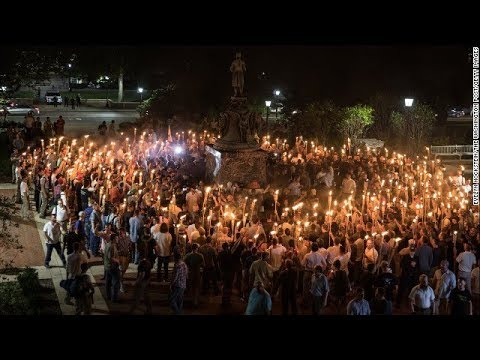 White nationalists march in Virginia