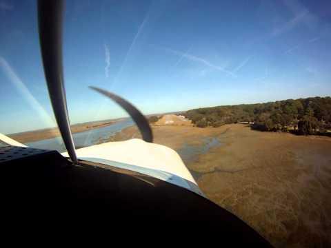 Jekyll Island, GA Airport - 09J - Maule MT7-235 Landing