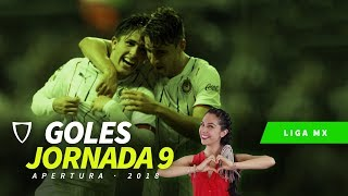 ⚽Todos los Goles Jornada 9 Liga MX Apertura 2018 en HD ⚽