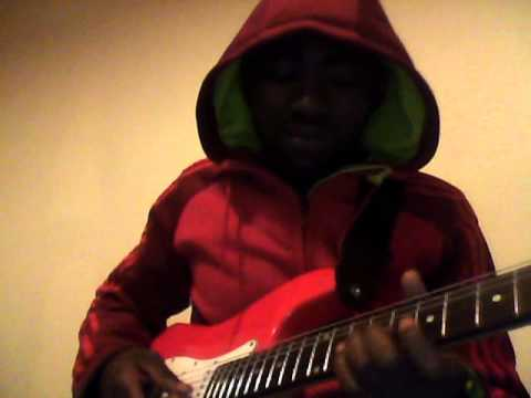 R2BEES FT WIZKID- SLOW DOWN (GUITAR COVER]