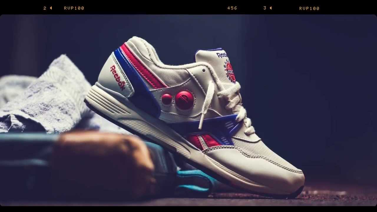 2036b09cabd Reebok Pump Vintage Pack  Pump Running Dual - YouTube