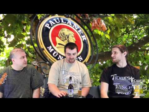 Paulaner Hefeweizen (Hefe-Weissbier Naturtrüb) German Beer Review (Munich, Germany)