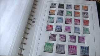Stamps collection Germany 1945   1949 Allied occupation