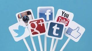 Como Colocar Botones o Iconos de Redes Sociales en Blogger