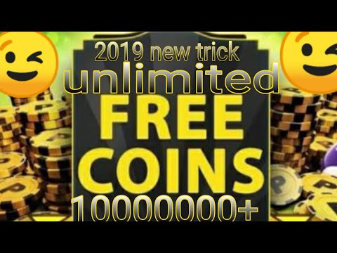 8 Ball Pool Unlimited Coins New Trick 1000% Working Using 1 Mobile  No Root/ No Pc New Trick 2019